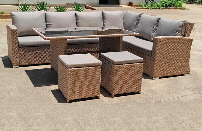 Akaroa 5pcs dining modular sofa